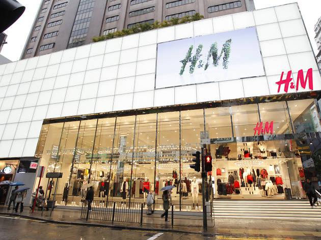 H&M Causeway Bay storefront