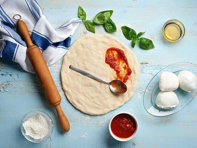 Taller de pizza i focaccia a Roc35