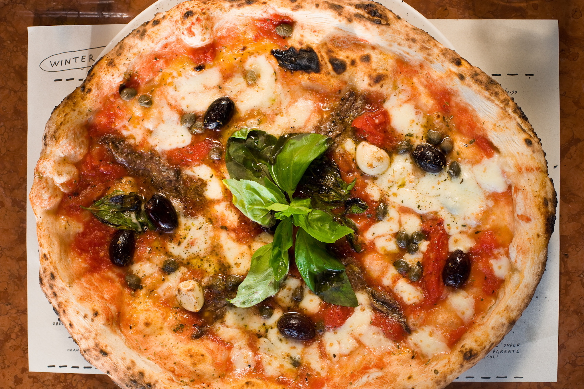 Do not reuse. Franco Manca for Deliveroo pizza-makers campaign