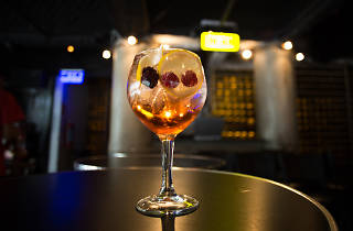 Gin tonic de Peralta