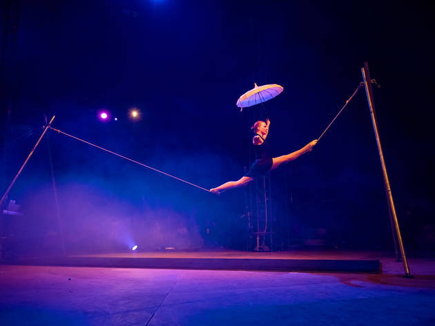 On stage production shot at Lexicon Melbourne Festival