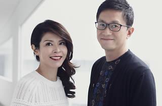 Portrait of James and Winnie