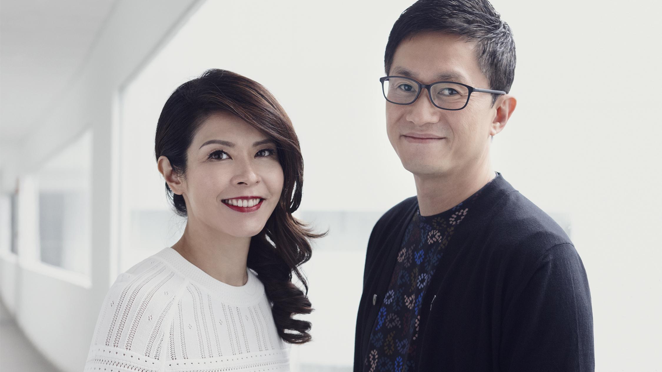 James Quan and Winnie Chen