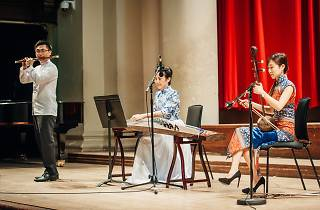 Chinese instrumental trio in Music Interflow