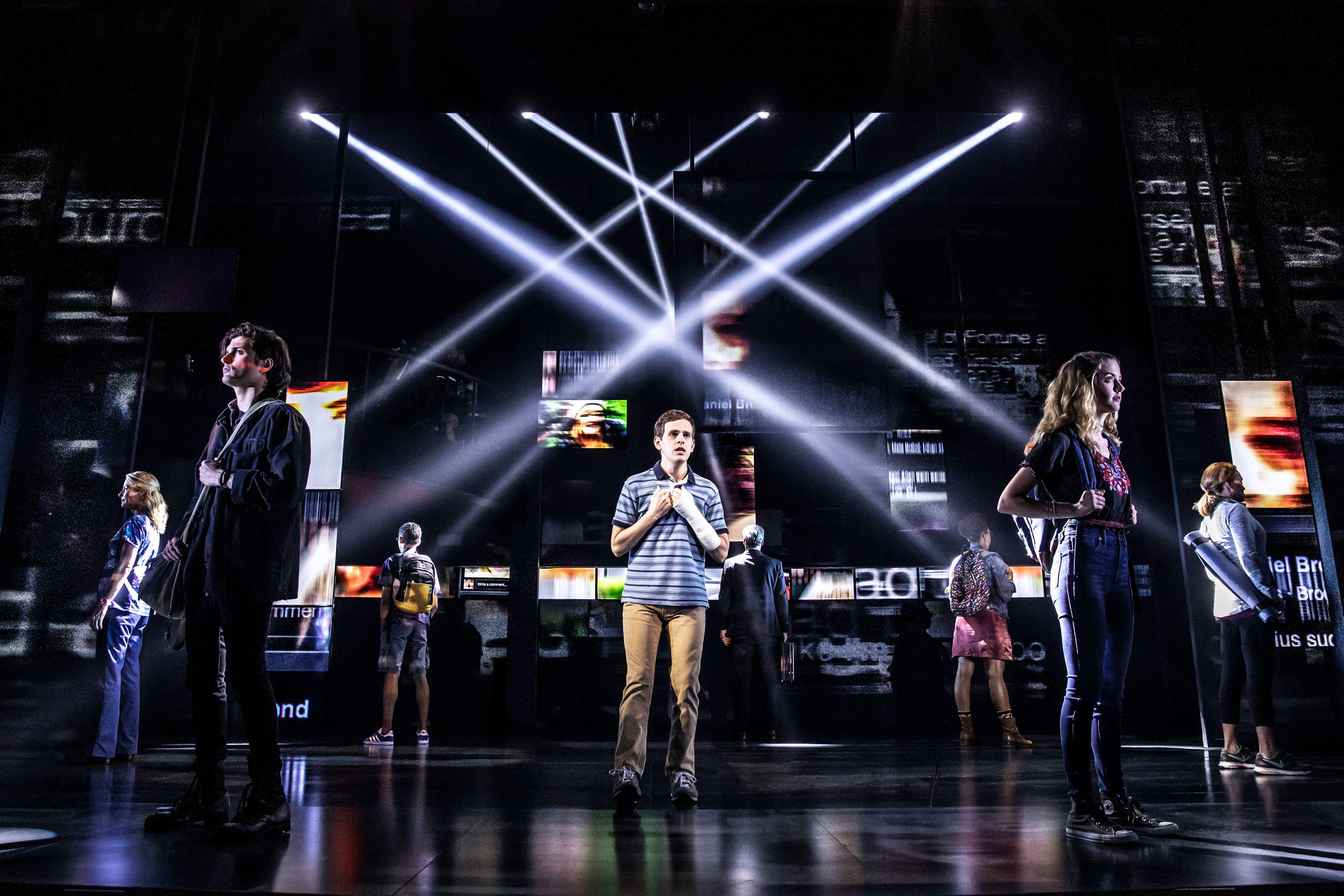 Dear Evan Hansen, Broadway cast 2018