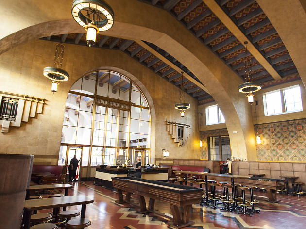 Union Station's sprawling new brewery and cocktail bar is now open