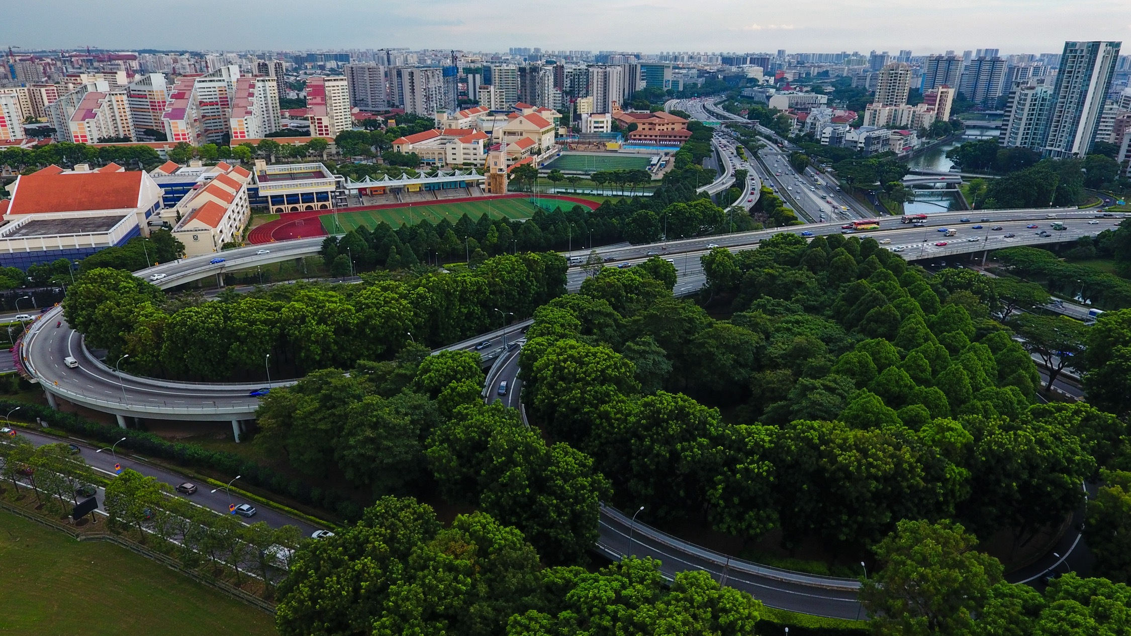 Aerial view of Toa Payoh