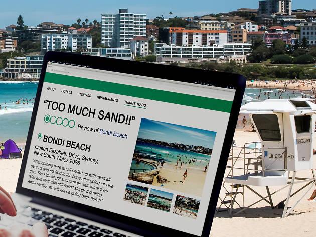 bondi beach tripadvisor, too much sand!!