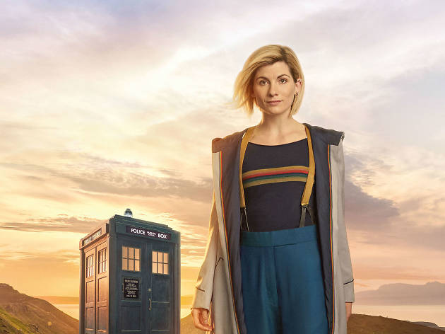 Dr. Who con Jodie Whittaker