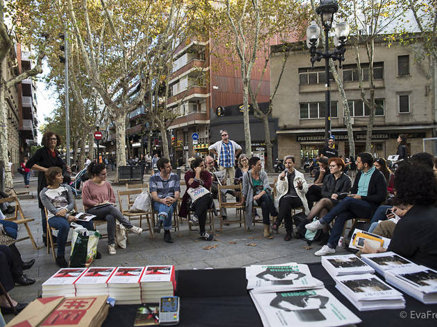 Escena Poblenou 2018: Diàlegs Som Aquí. Videografies + veus i mirades