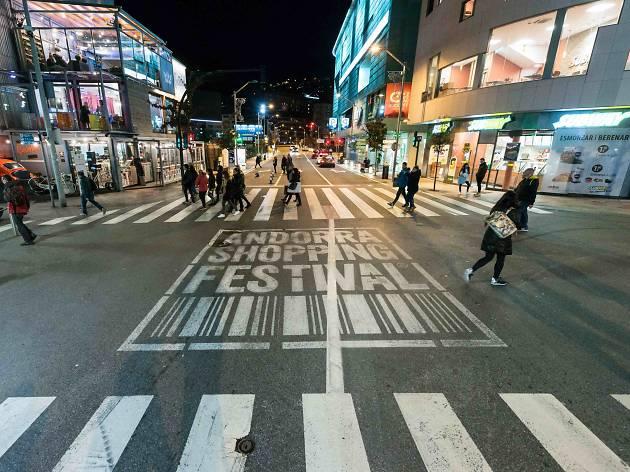 Escapa't a un gran festival de shopping a Andorra
