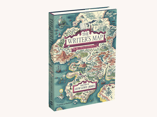 Xmas gift guide men: The Writer's Map, Thames & Hudson, from Amazon, 2018