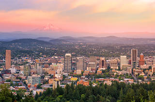Cityscape of Portland, Oregon