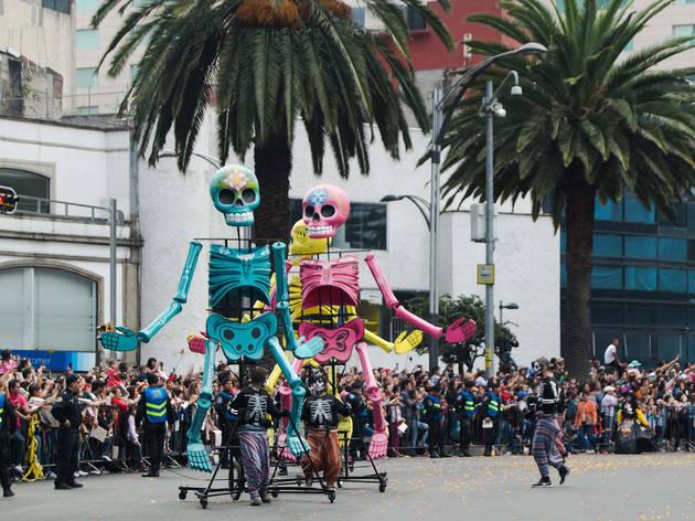 Desfile de Día de Muertos (Foto: Mattza Tobón)