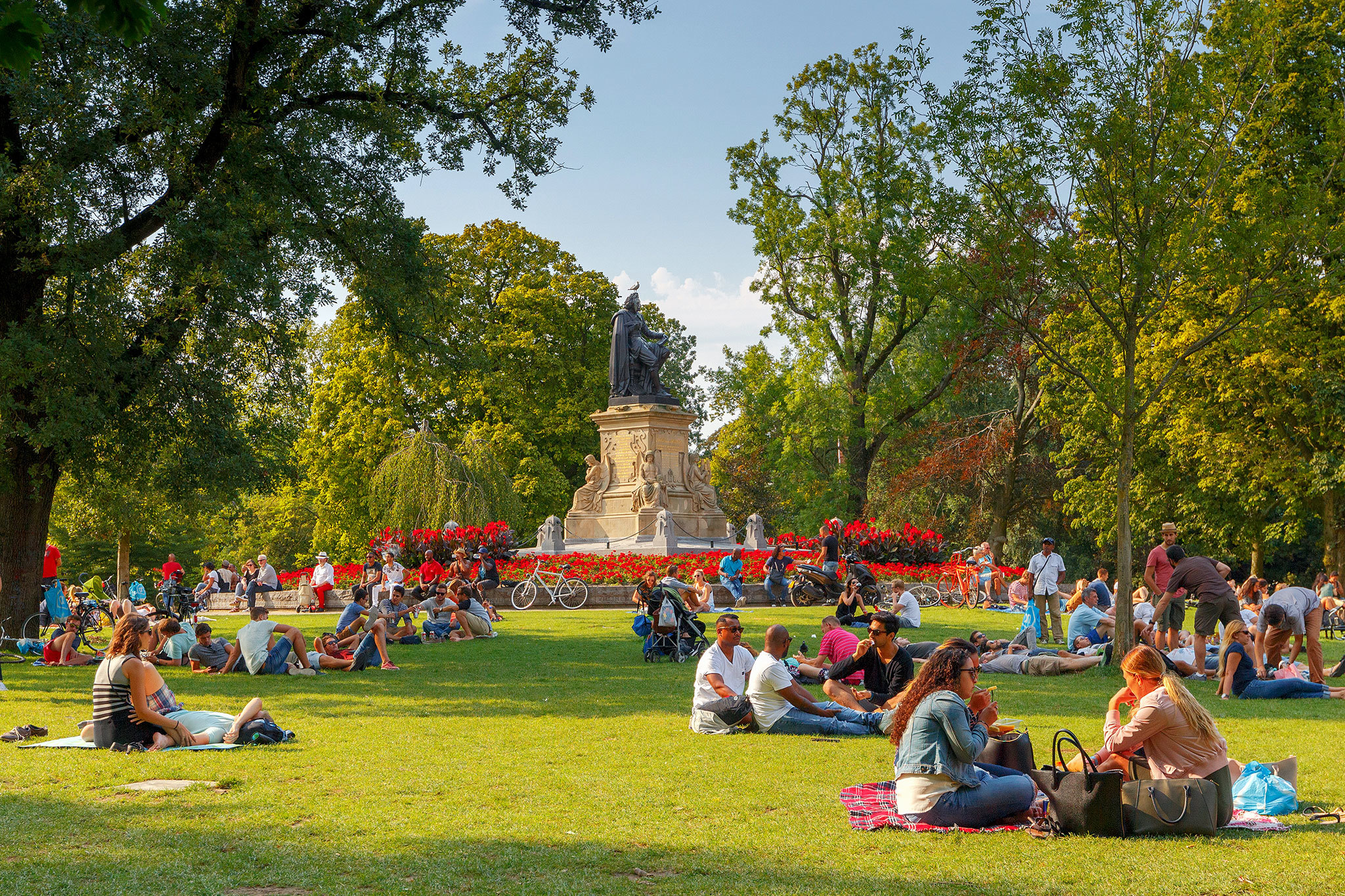 The best parks in Amsterdam