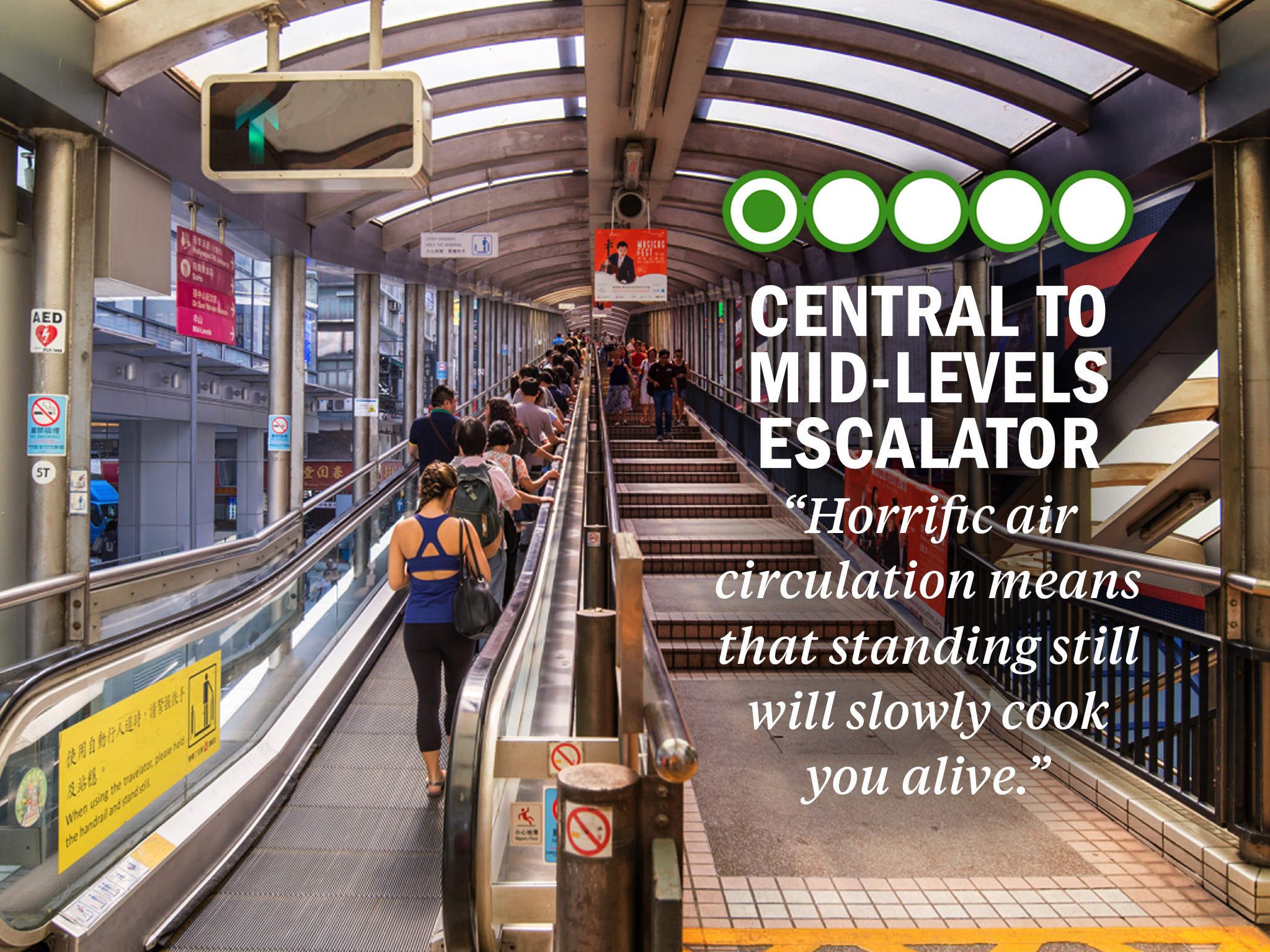Mid-Levels Escalator
