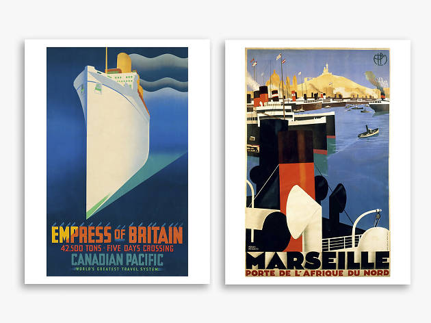 Xmas gift guide her: Vintage Travel Posters by Thames & Hudson, from Amazon, 2018