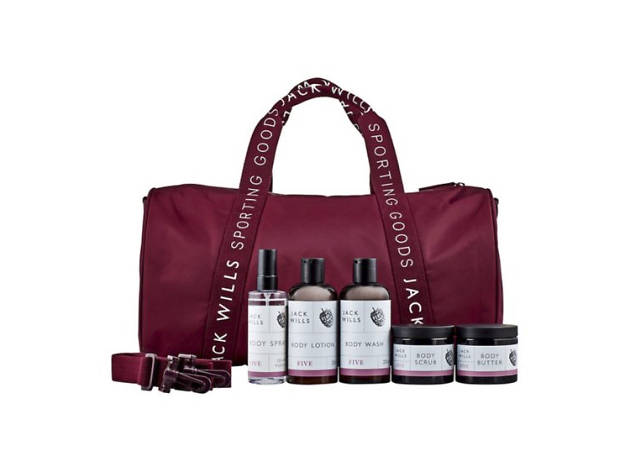 Xmas gift guide her: Jack Wills gym bag from Boots, 2018