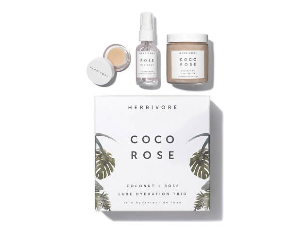 Xmas gift guide her: Coco Rose skin hydration set from Space NK, 2018