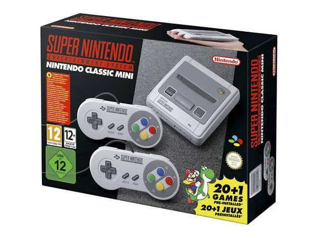 Xmas gift guide gadgets: Nintendo SNES Mini from Argos, 2018
