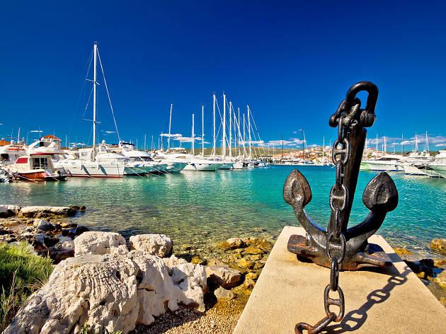 rogoznica, sailing, croatia, dalmatia, luxury, yachts, boats, anchor