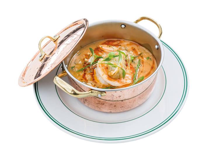 Três sítios para comer arroz de marisco
