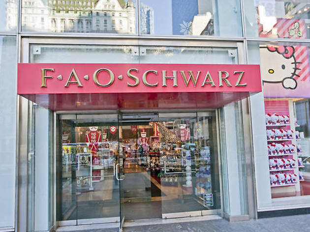 NYC's new FAO Schwarz has an opening date