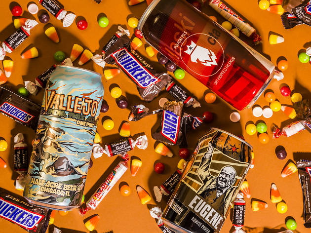 These Chicago beers pair perfectly with Halloween candy