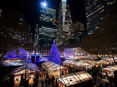 Bryant Park's Winter Village will open for the season on Halloween