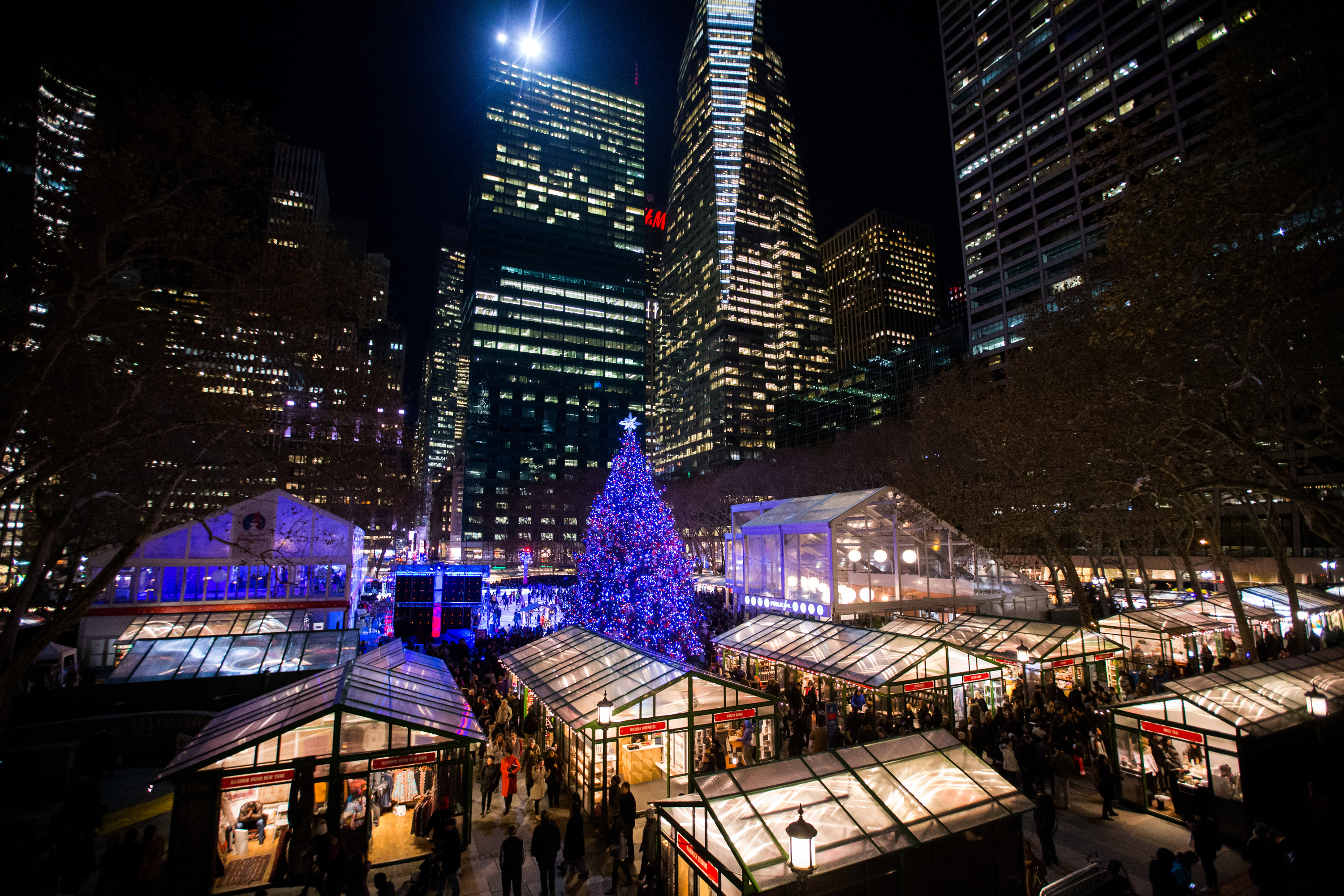 The Bryant Park Winter Village guide