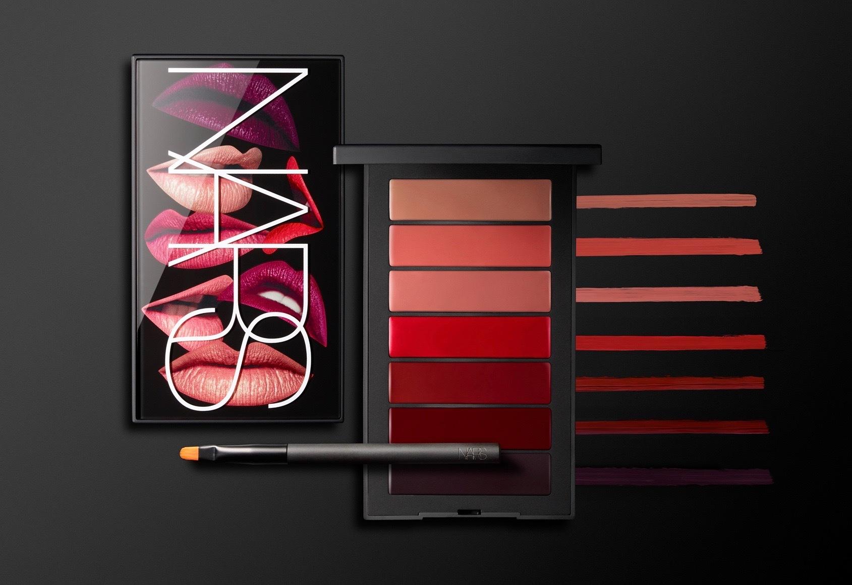 Nars Deadly Sins Audacious Lipstick Palette