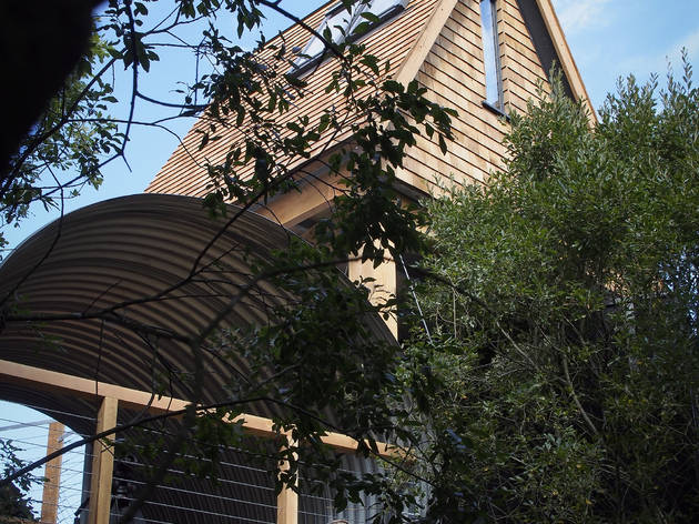 George Clarke's Amazing Spaces, Treehouse at Calvert Trust, Kielder, Northumberland, 10/9 2013.Photo ©: Mark Pinder/UNP+44 (0)1274 412221/2hamlet@unp.co.uk