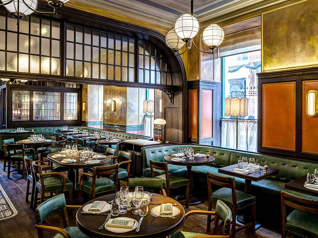 Do not reuse. The Ivy Market Grill restaurant by Paul Winch-Furness