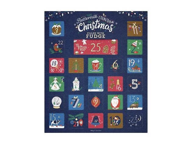 Best advent calendars: Buttermilk Cornish Fudge Advent Calendar, 2018