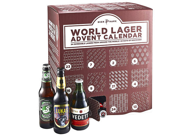 Best advent calendars: Beer Hawk Lagers of the World, 2018