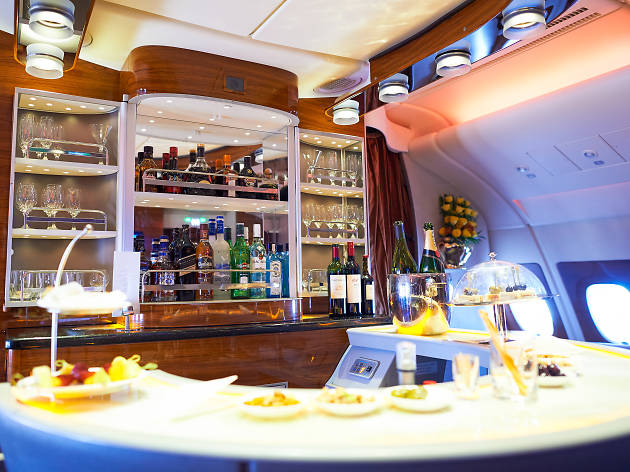 Airplane bar