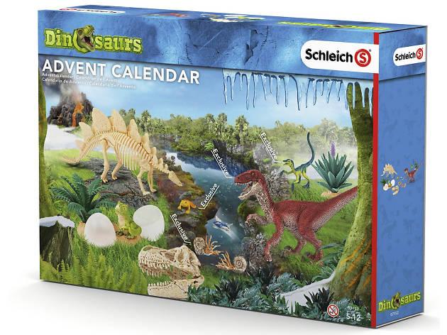 Best advent calendars: Schleich dinosaur calendar, 2018