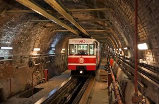 Tünel, Funicular