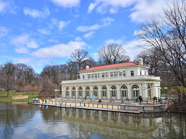 The Prospect Park Boathouse, Brooklyn
