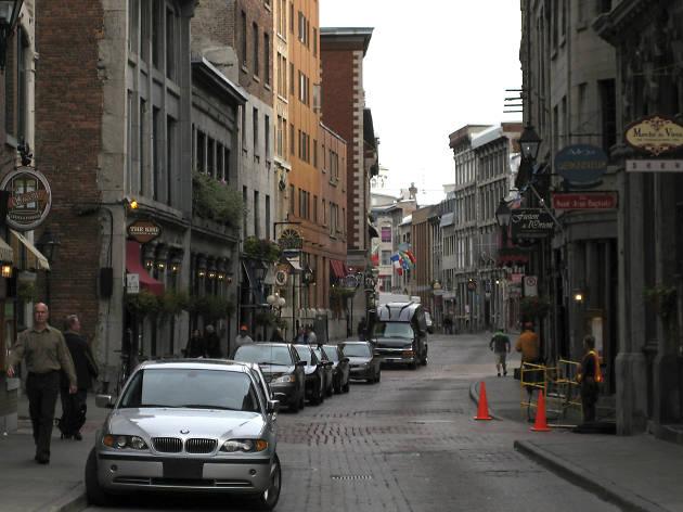 Saint Paul Street in Old Montreal
