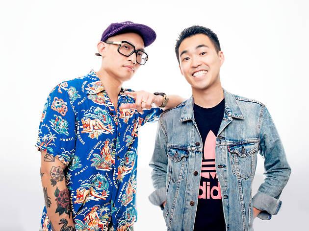 Michael Nguyen and Fumi Abe