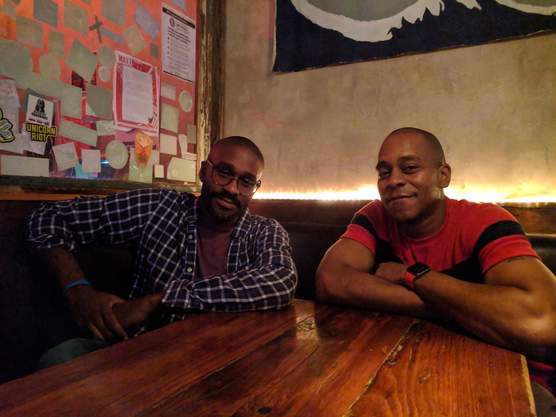 Brian Mitchell and Tyler Richardson