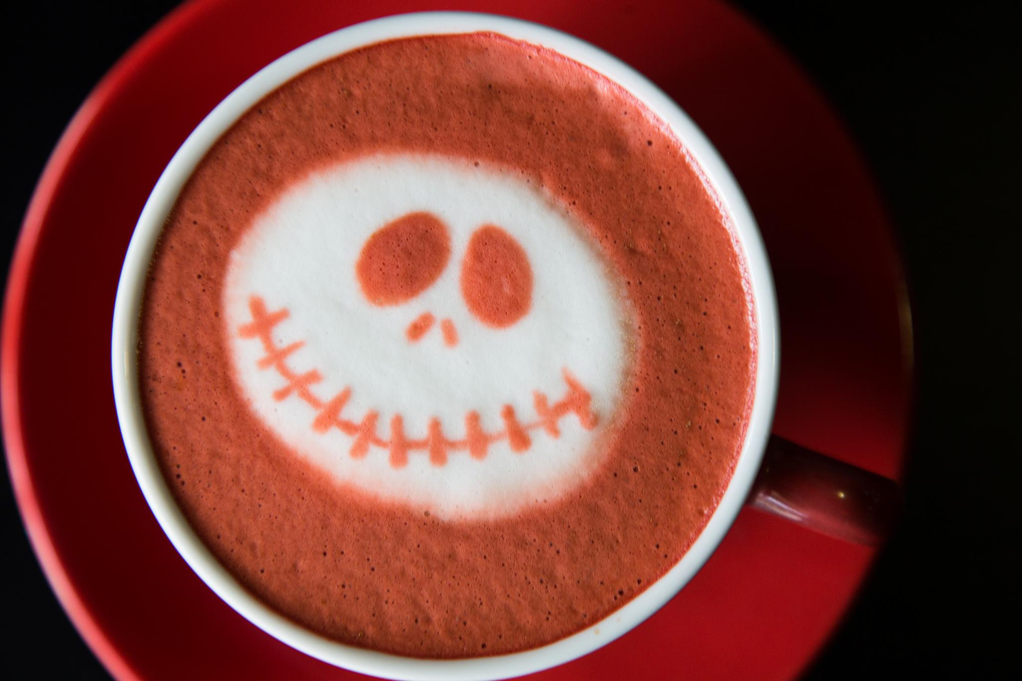 Pócimas de brujas y cafés para Halloween