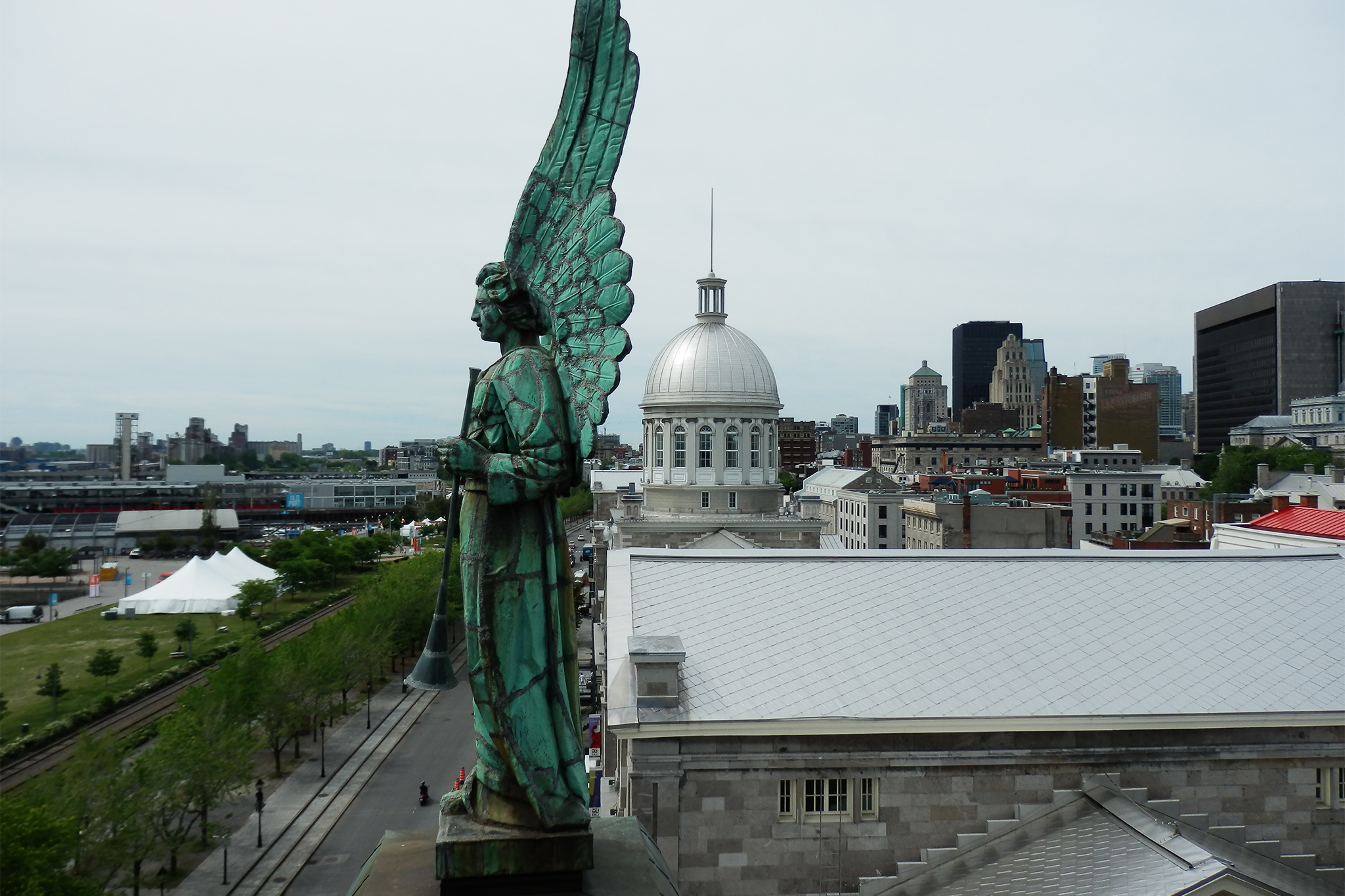 View from Marguerite Bourgeoys Museum