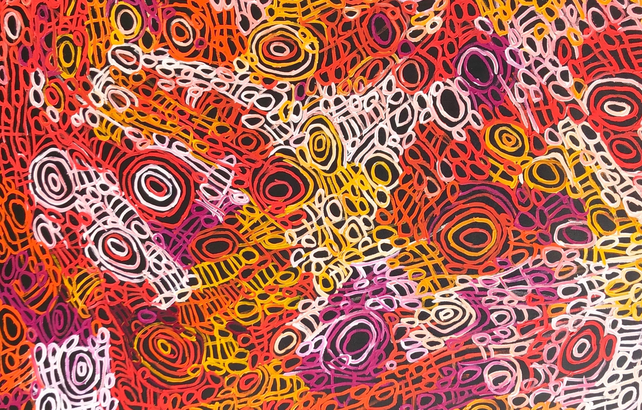 Adelaide's Pwerle Gallery is popping-up at Mercedes me Melbourne