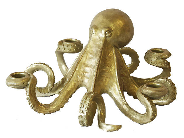 Xmas gift guide her: Rockett St George octopus candle holder, 2018