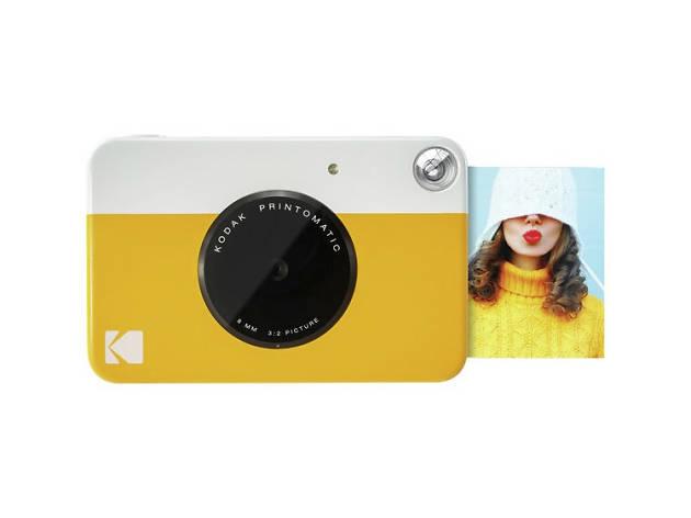 Xmas gift guide gadgets: Kodak Printomatic Instant Camera, 2018