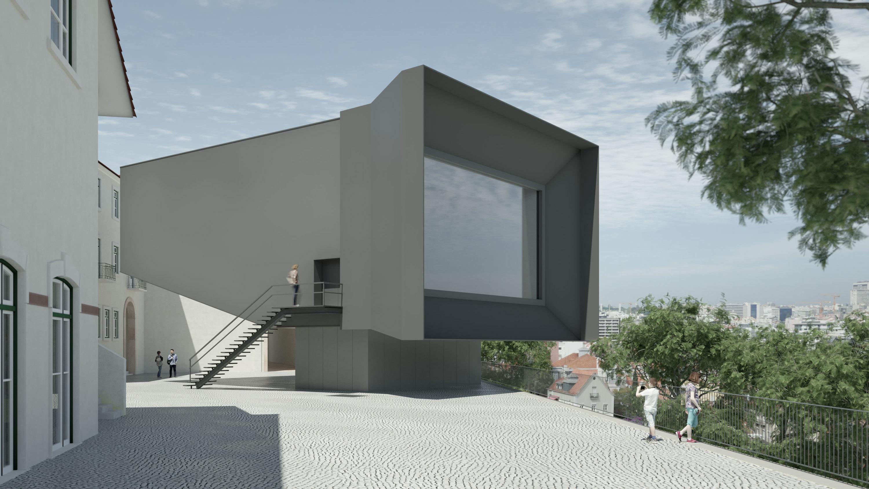 Auditório de Souto de Moura com vista privilegiada sobre Lisboa só em 2020