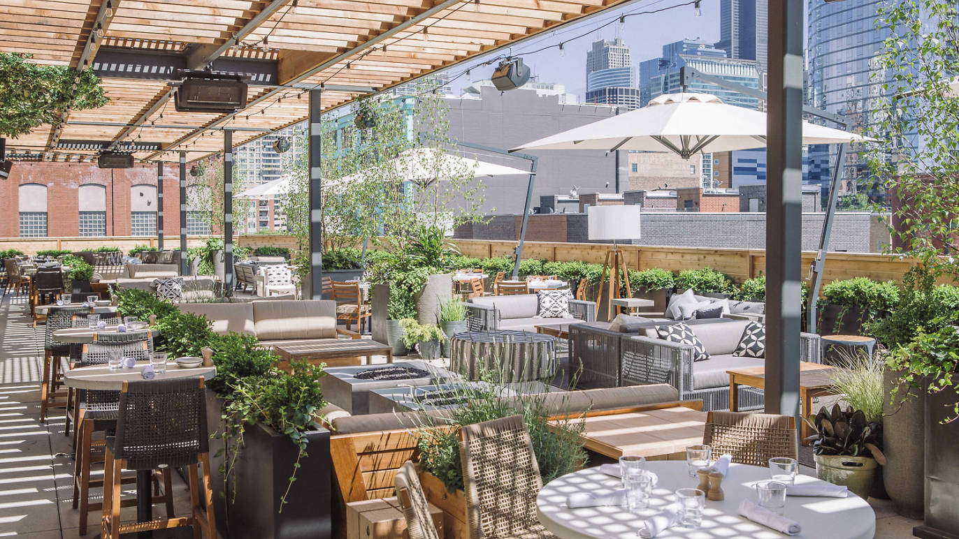 Aba, rooftop, patio, outdoor dining, outdoor, restaurant