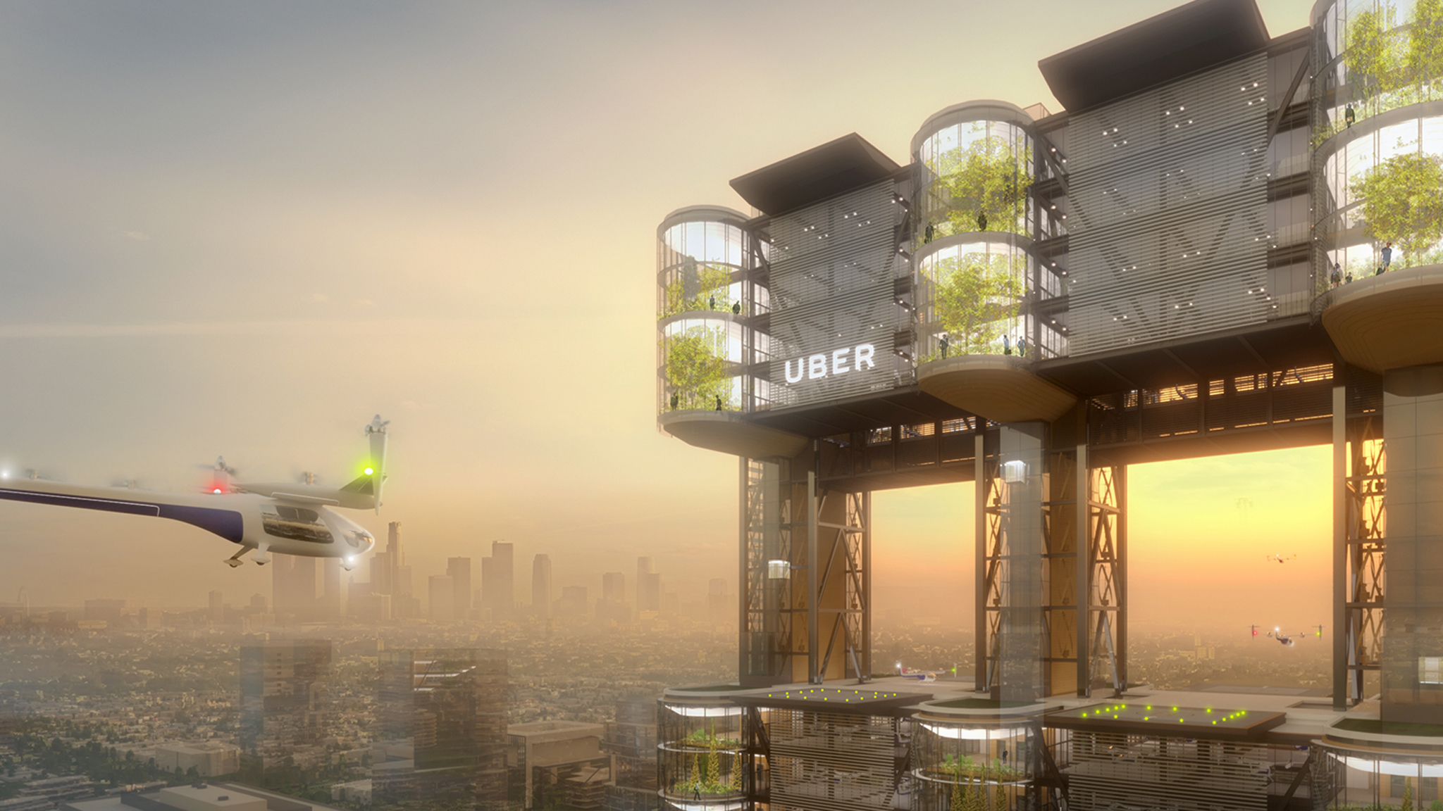 How Los Angeles could become a flying-car utopia (or nightmare) by 2023